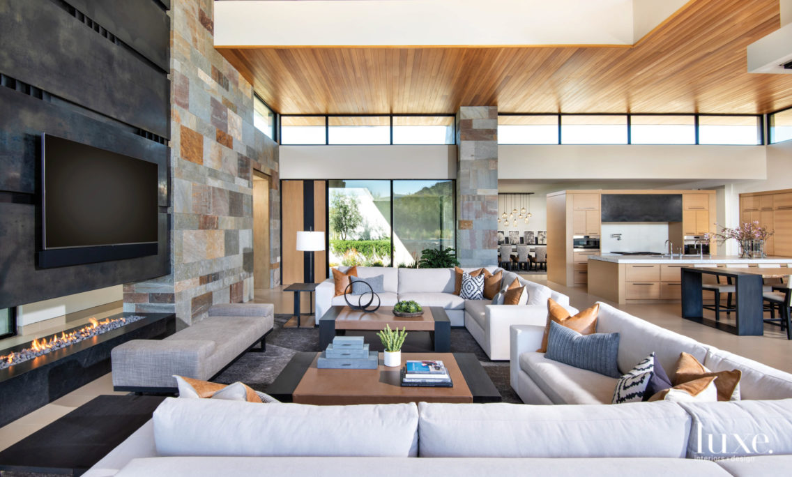 Giving Up Contemporary For A Modern Arizona Home Emitting Organic Vibes