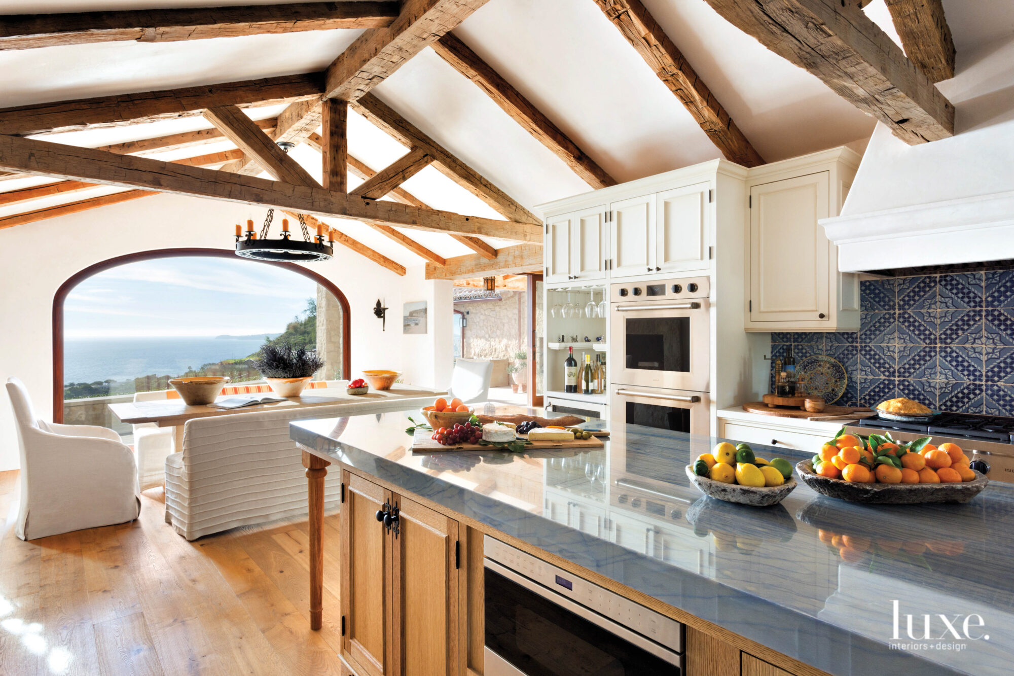 Shot of kitchen facing toward view