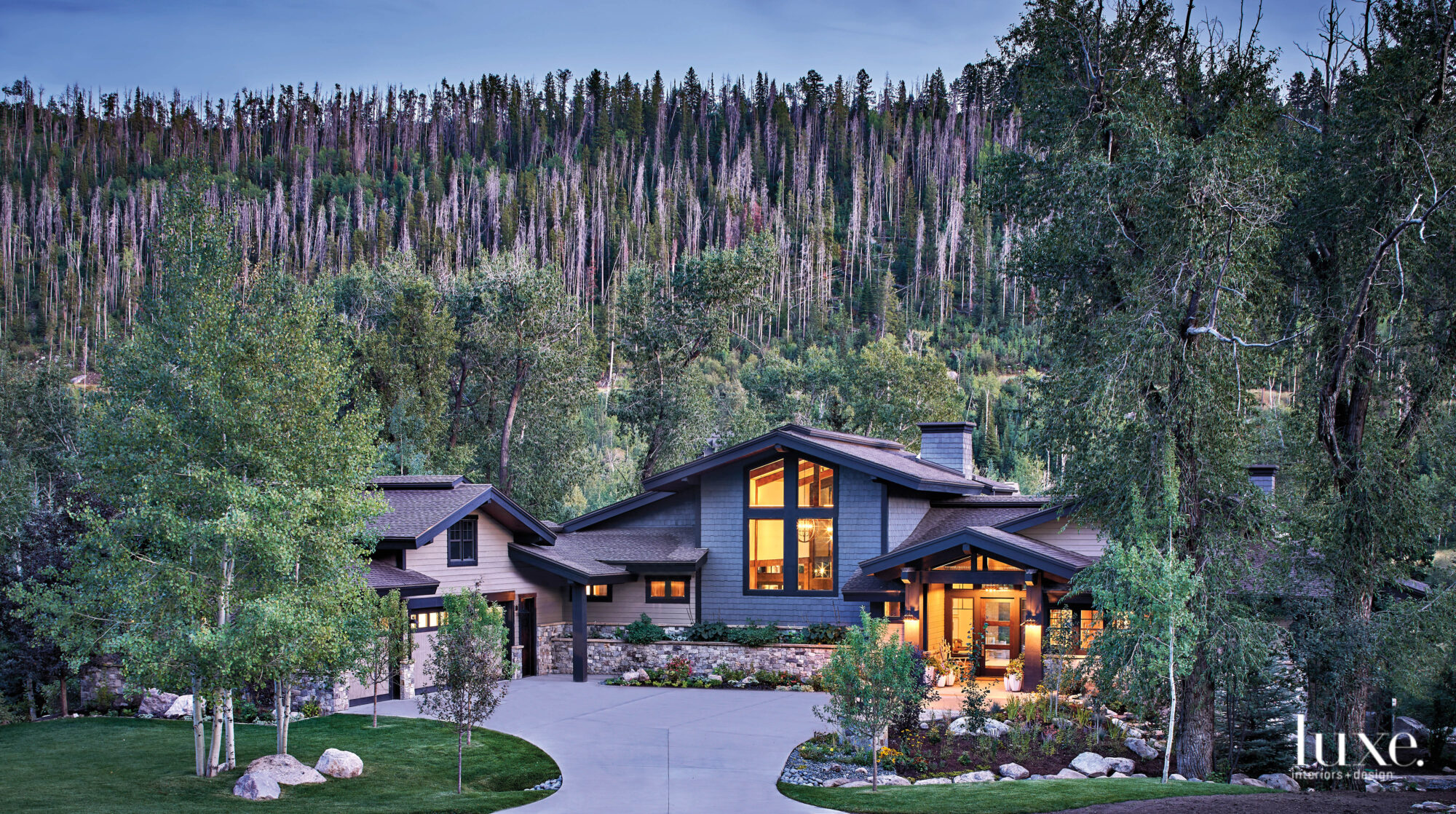 The exterior of a Steamboat Springs home