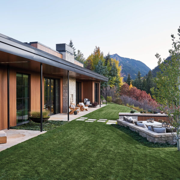 Perfect Harmony: An Aspen Home Mixes Modern Minimalism With Maximal Warmth