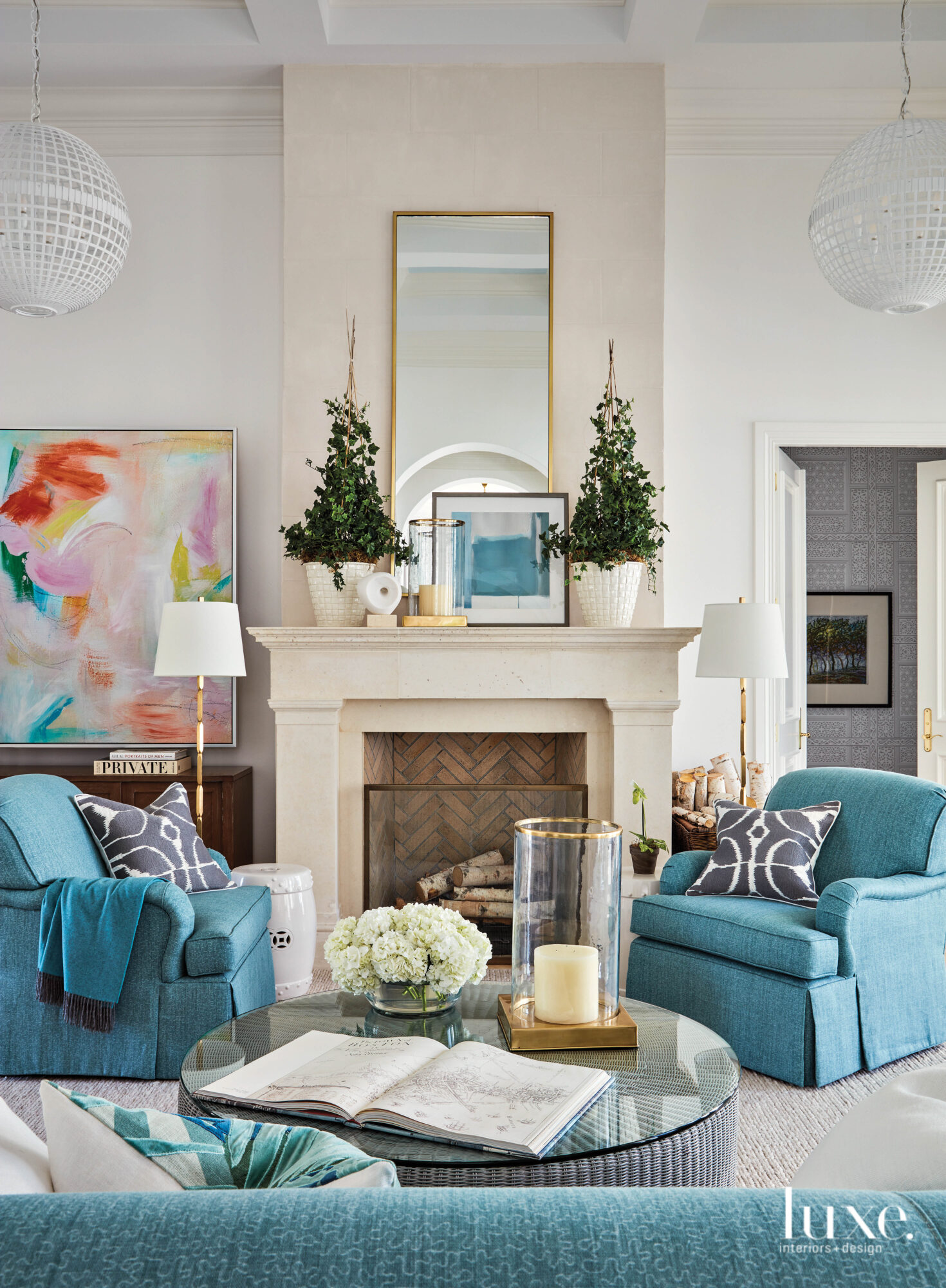 Colorful Interiors Reign Supreme In This Revamped Naples Getaway {Colorful Interiors Reign Supreme In This Revamped Naples Getaway} – English
