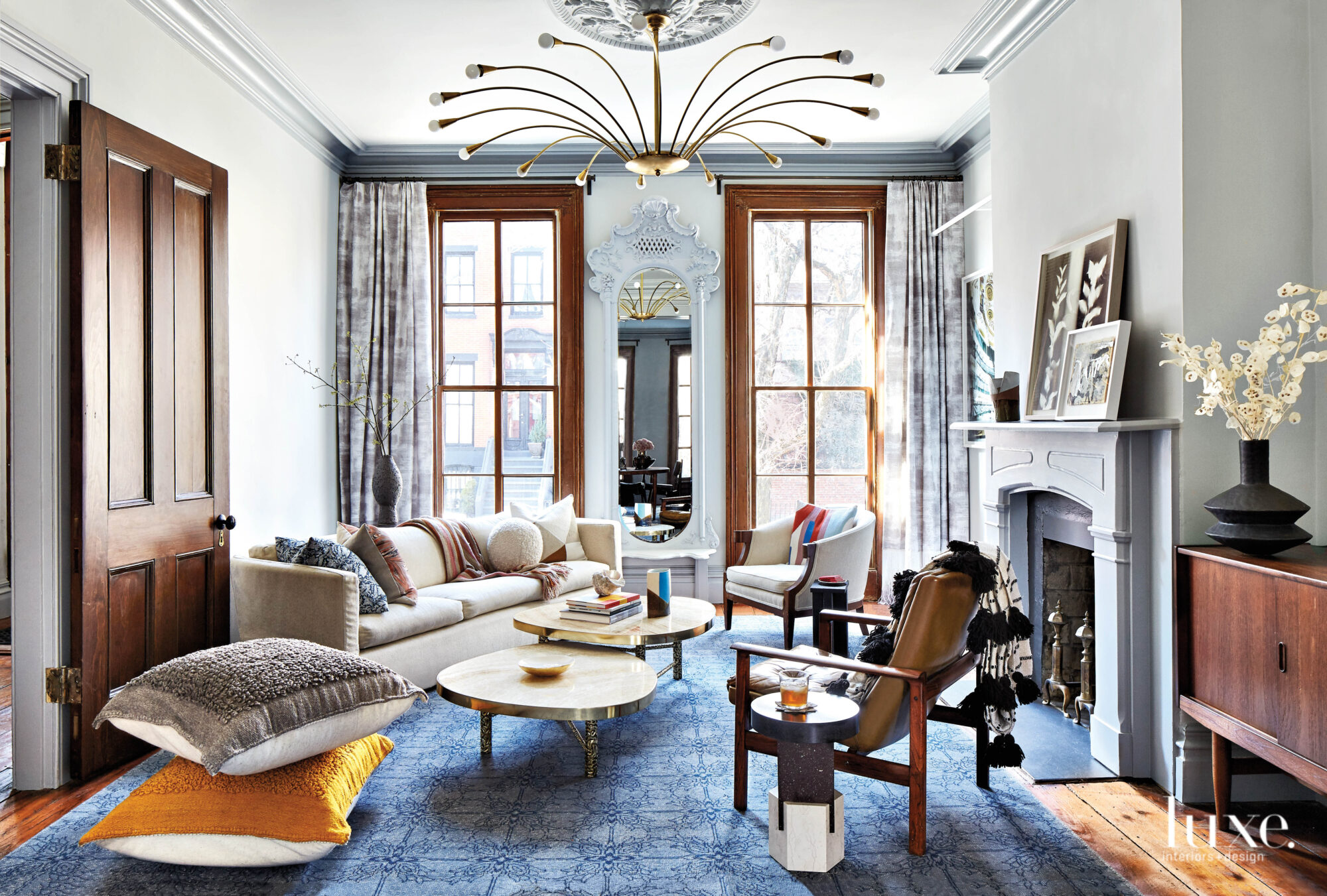 Family-Friendly Funk Imbues This Historic Brooklyn Townhouse