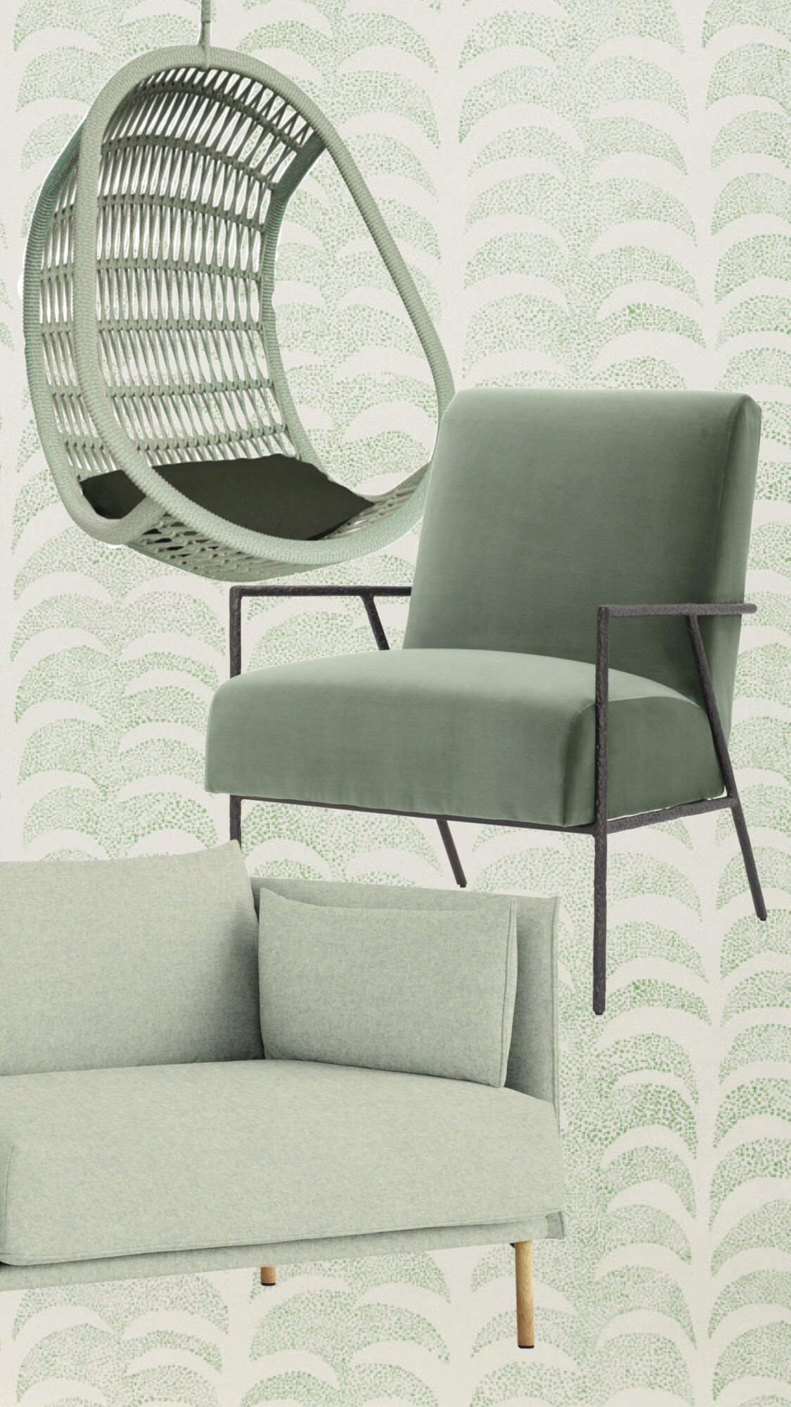 The Eye-Catching Chairs, Sofas, Stools—And Swing!—That Are On Our Wish List