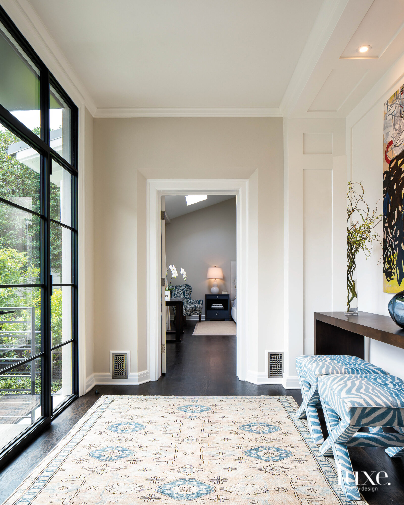 Interior entry of a Seattle house