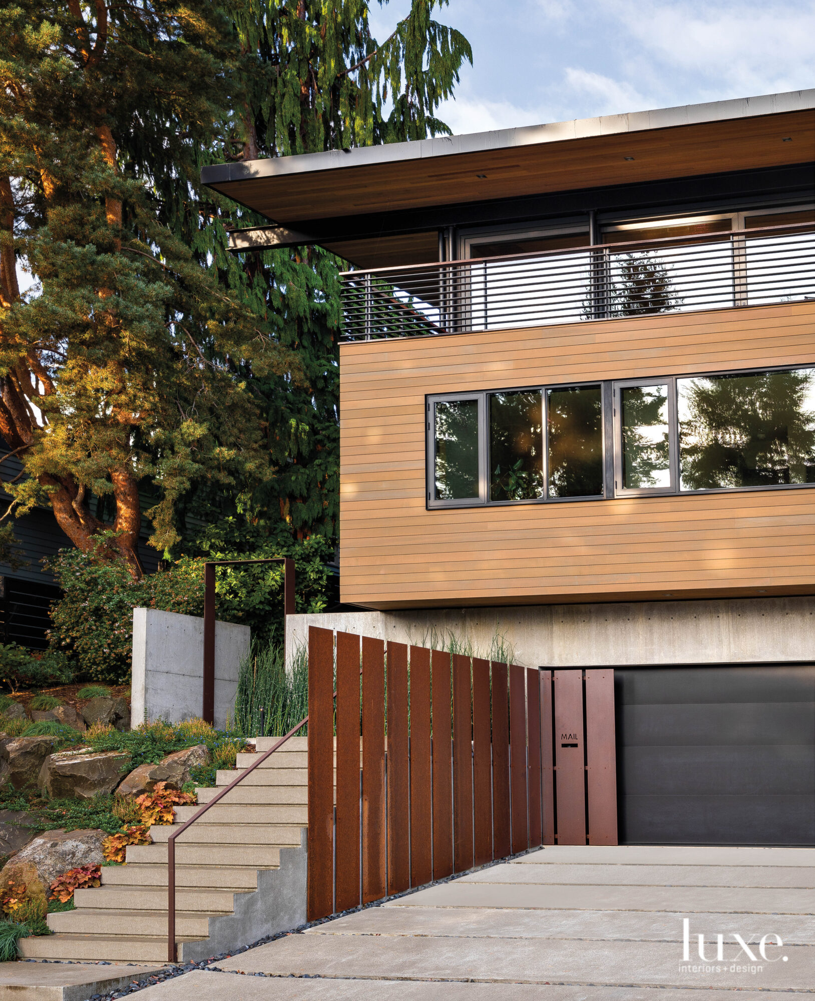 Exterior of Seattle house with...
