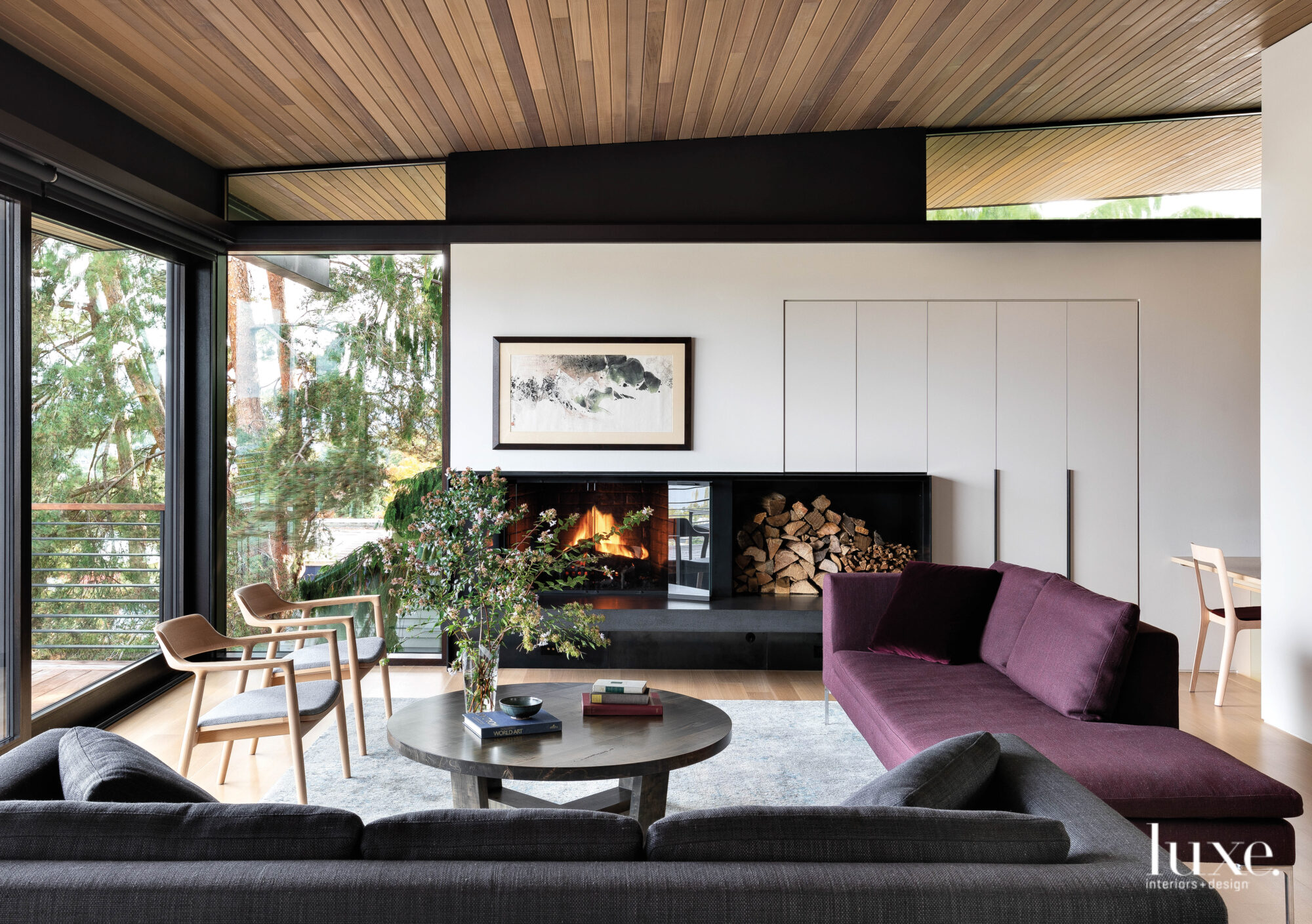 Functionality And Picturesque Surroundings Set The Stage For A Pacific Northwest Home