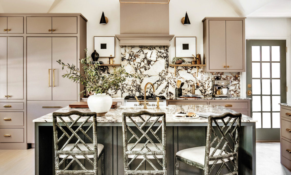 Step Inside This Historic Tudor Home With The Dreamiest Kitchen