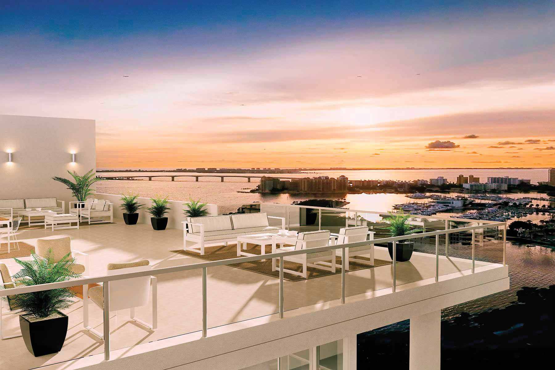 Live A Life Of Luxury At This Bayfront Sarasota Condominium