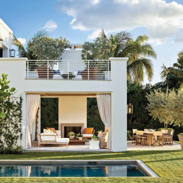 A Palm Beach Home Combines Clean Lines And Global Accents