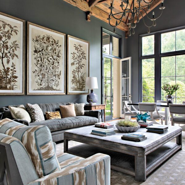 Lively Designs And Saturated Hues Update A Memphis Manse