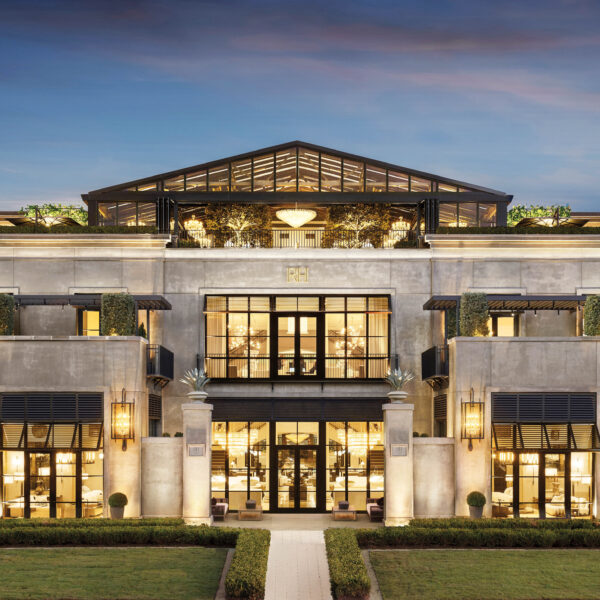 Glamour And Architectural Intrigue Abound At RH's Grand Charlotte Gallery