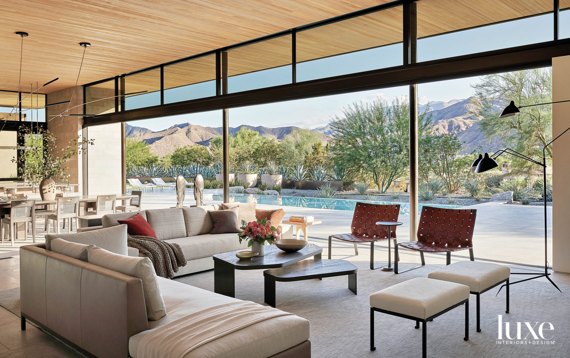 This California Abode Opens Wide To Every Possible Vista In Palm Desert