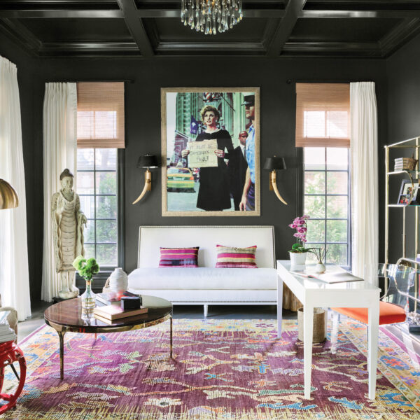 Bold Colors And Funky Furnishings Transform A Neutral Chicago Home