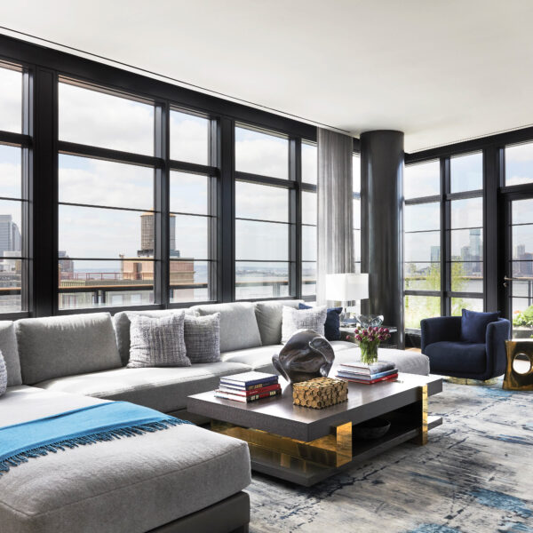 River Views Meet State-Of-The-Art Acoustics In This NYC Penthouse