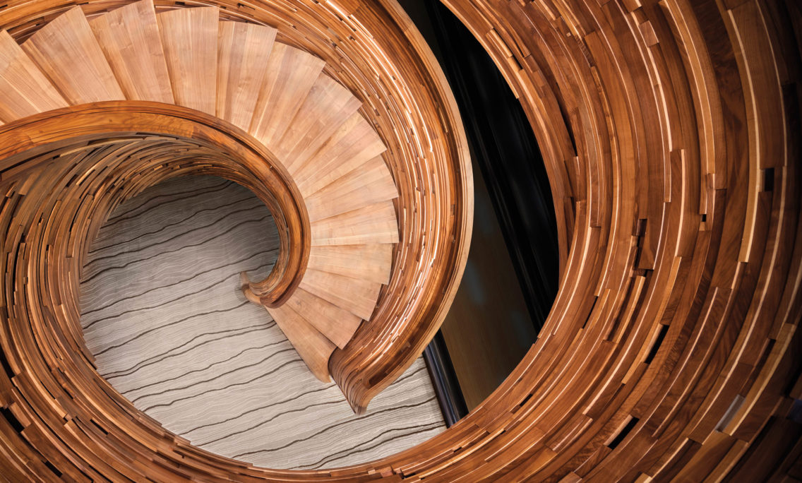 The Seattle Woodworker Behind This Impressive Staircase With 4,000 Hand-Shaped Pieces