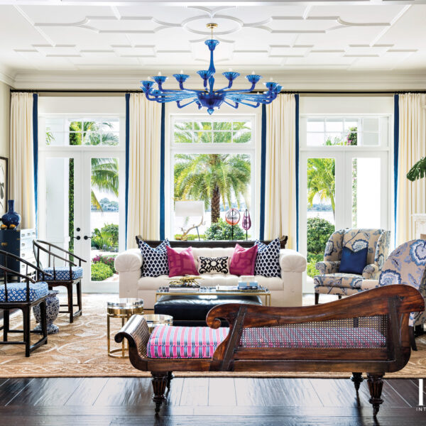 Family's New Jupiter Home With A Formal Yet Relaxed Coastal Feel