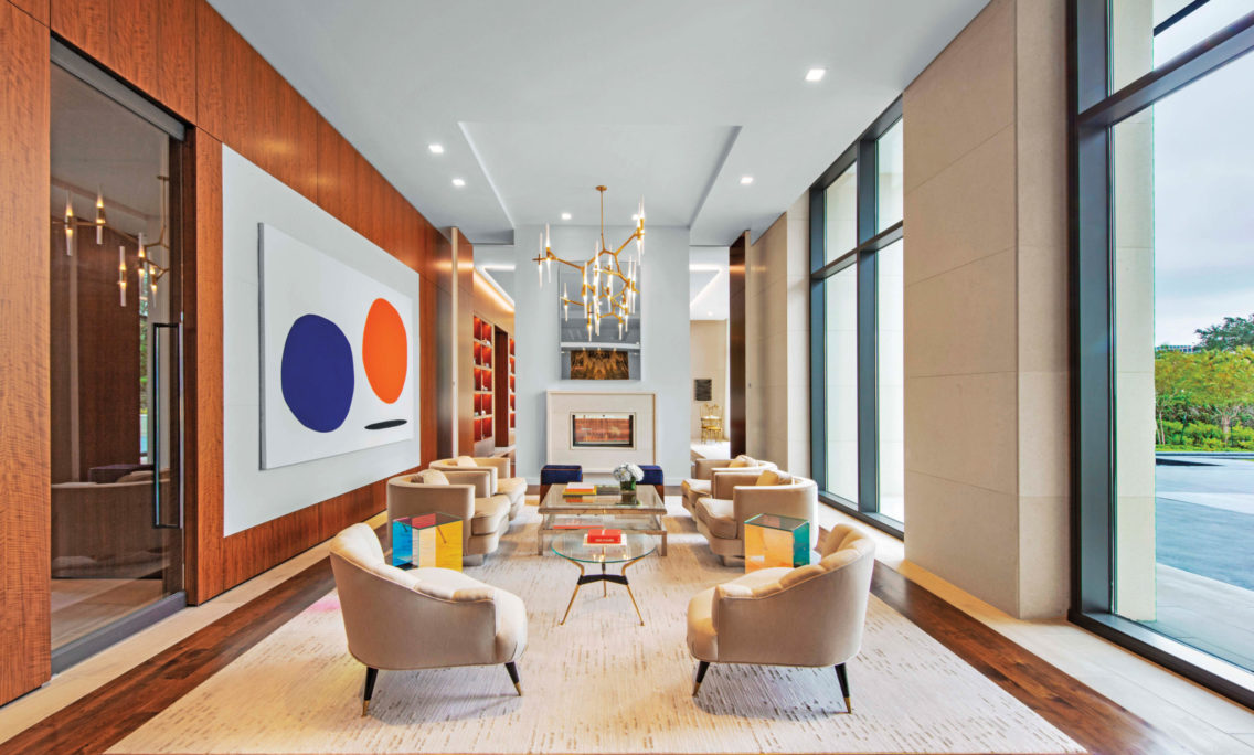 Artwork Takes Center Stage At The River Oaks Luxury High-Rise In Houston
