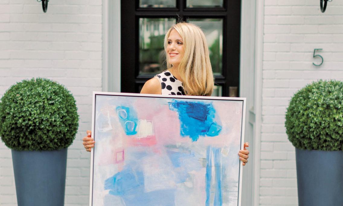 Interiors Inspire Austin Artist Erin Donahue Tice