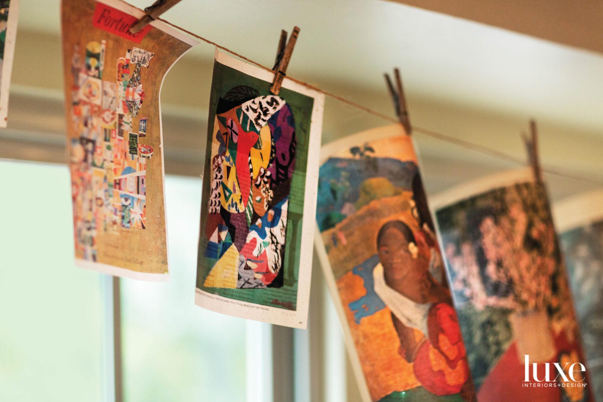 Artful inspiration in a Dallas-area studio
