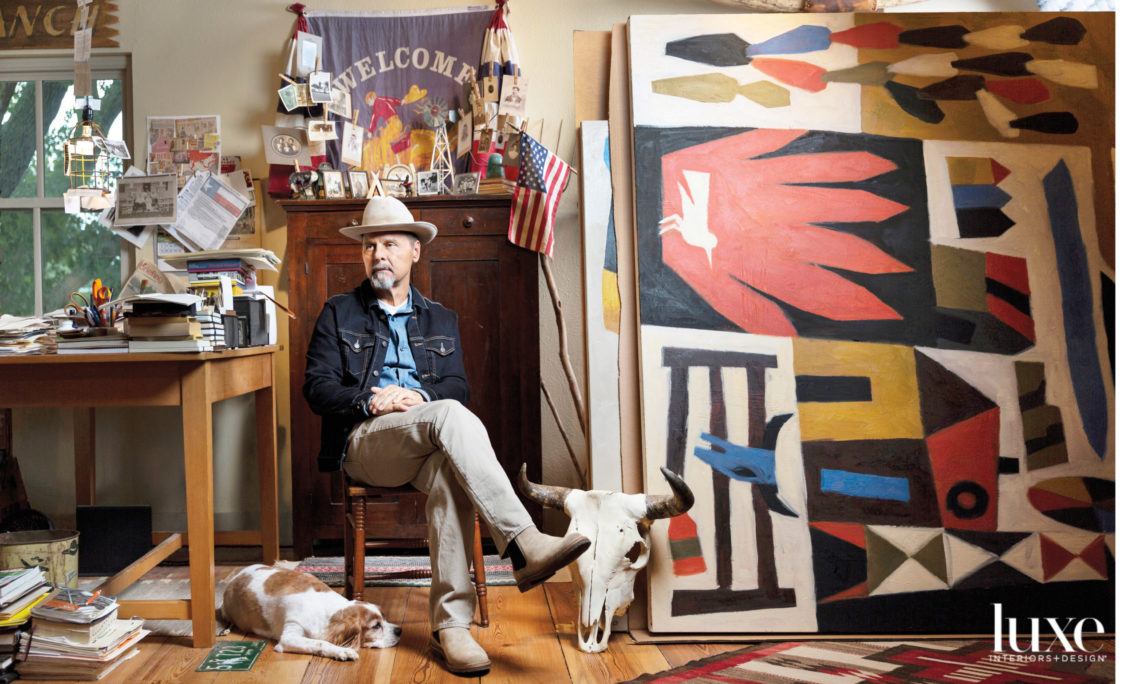 Dallas Artist Jon Flaming Is Blazing New Trails With His Wild West References