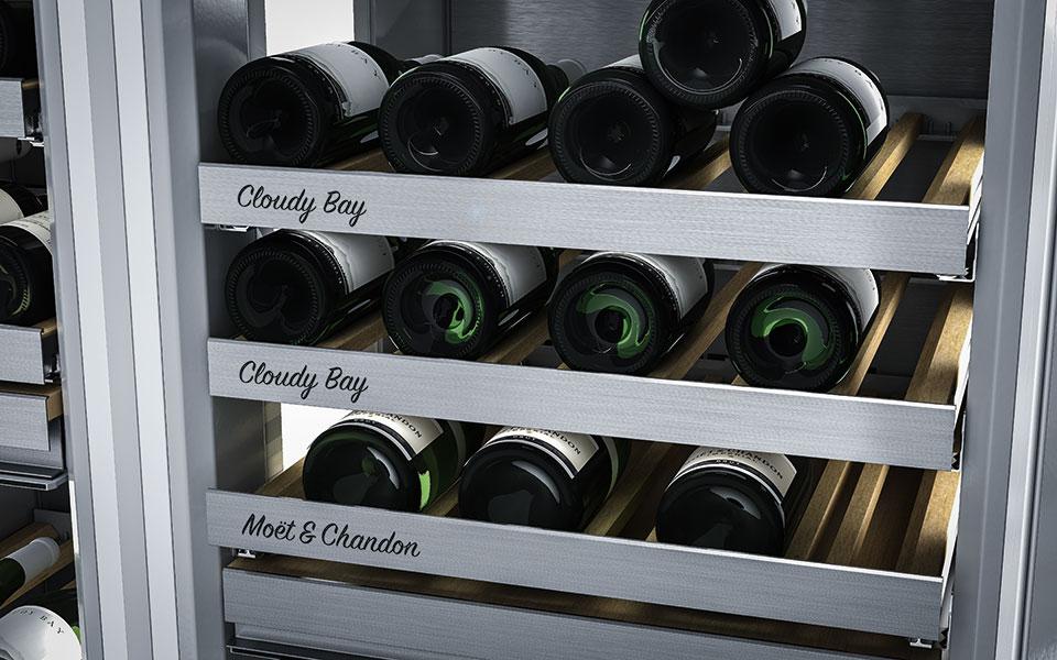 wine in wine rack