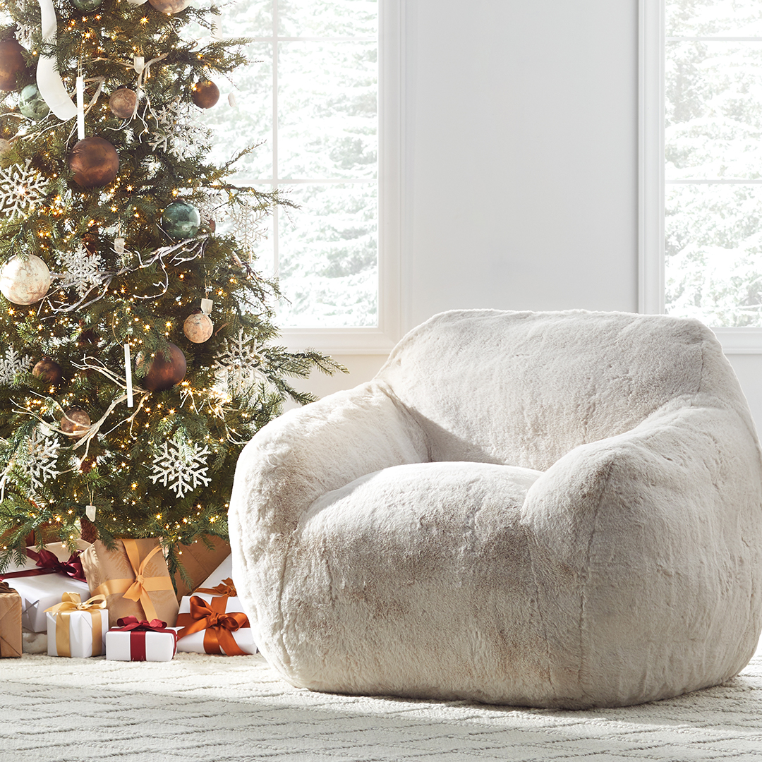 arhaus snuggle chair christmas tree