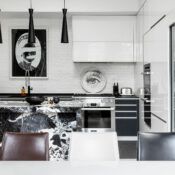 Tile To Toile: The Fine Art Of Designing In Black And White