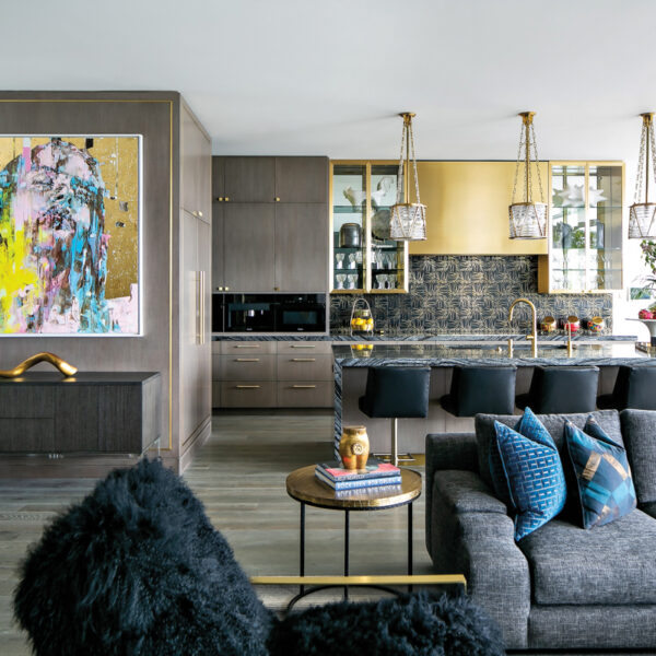 In Newport Beach, A Couple Brings Modern Edge Into Their 1960s Home