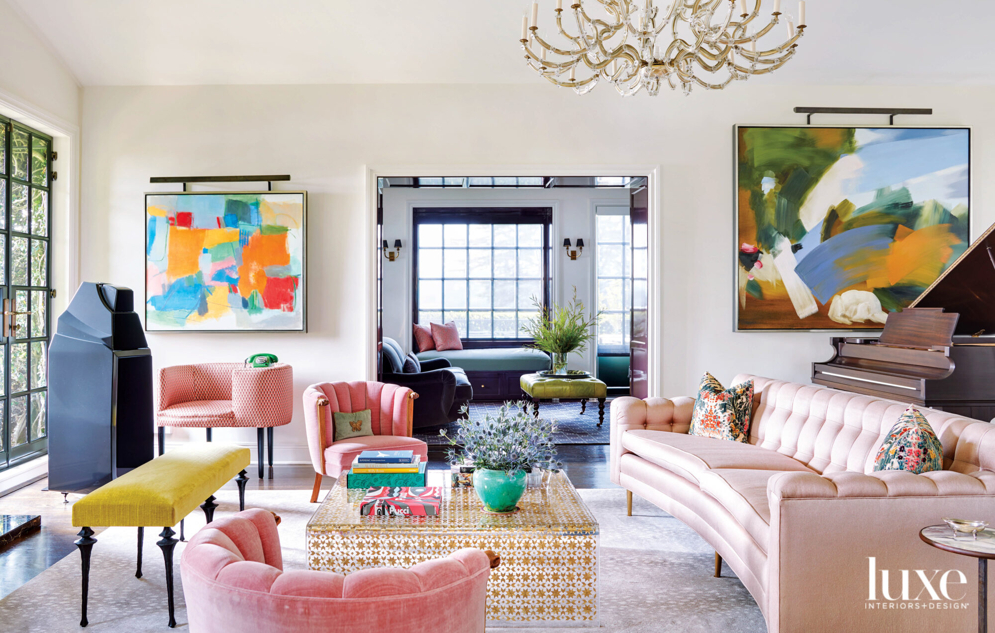A 1930s Beverly Hills Gem Comes Alive With Layers And Colors