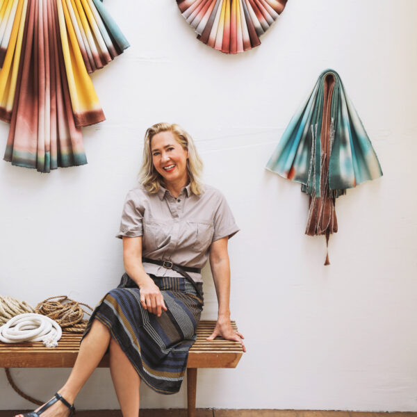 This L.A. Artist's Approach To Canvas Is Off The Wall