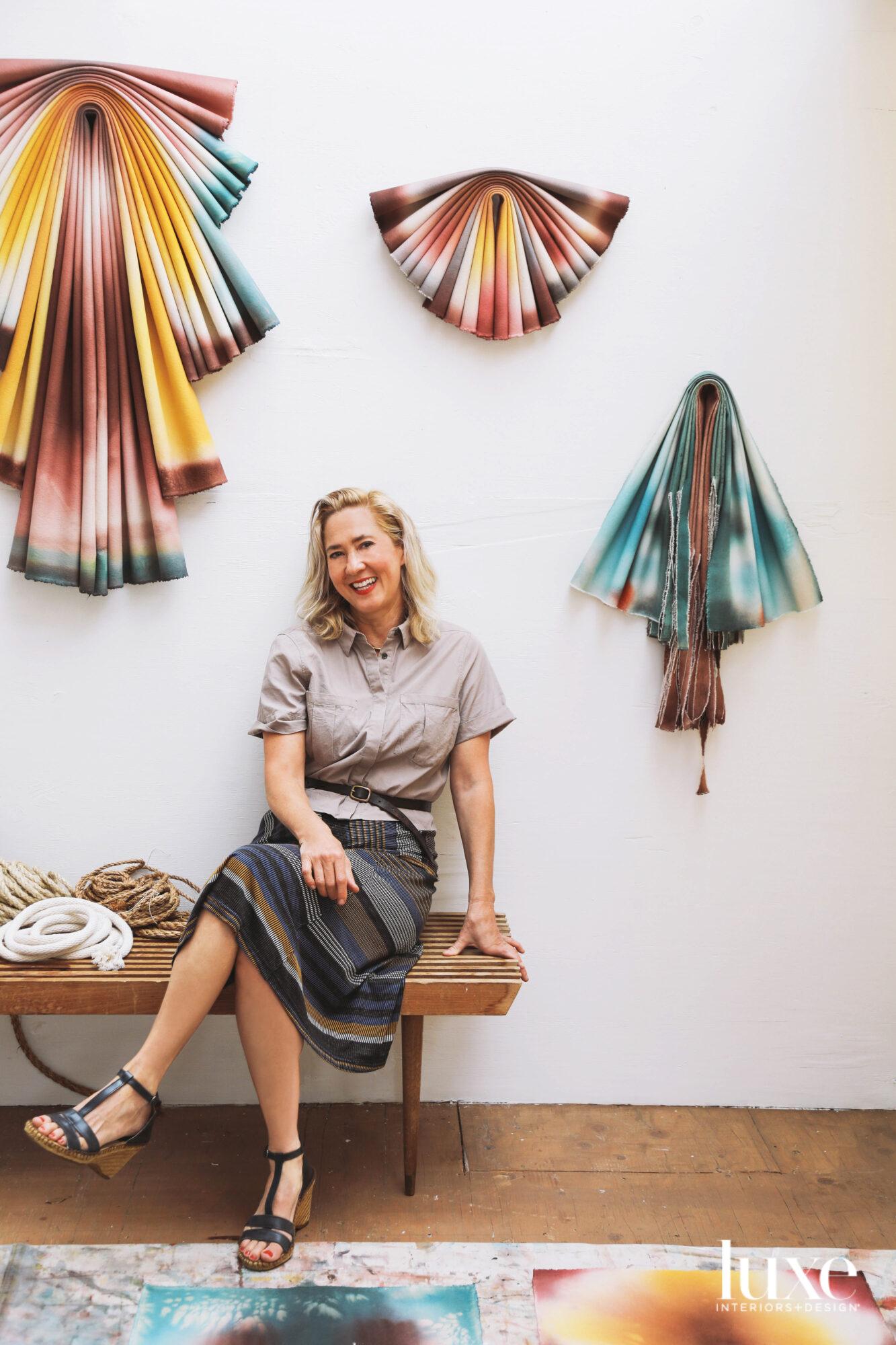 Susan Maddux in her Eagle Rock Studio
