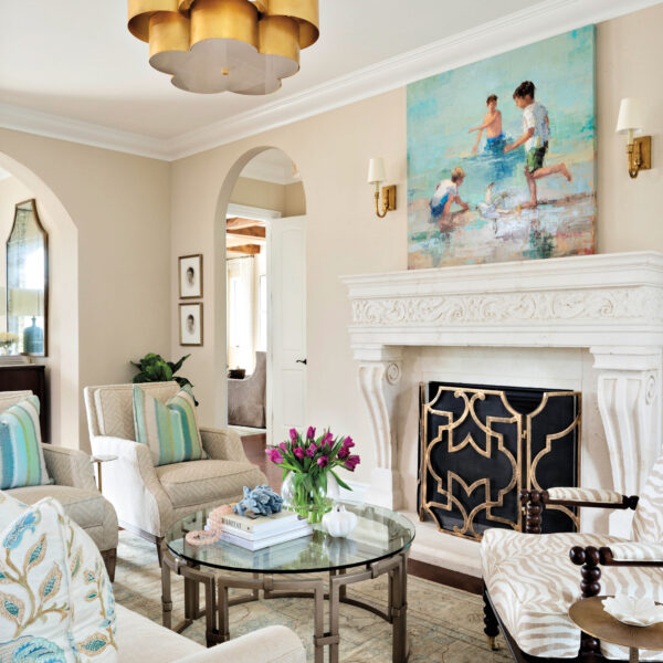 A Mediterranean-Style Florida Home Gets A Southern Overhaul