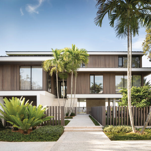 Prized Sinker Cypress Plays A Starring Role In A Bayfront Florida Home