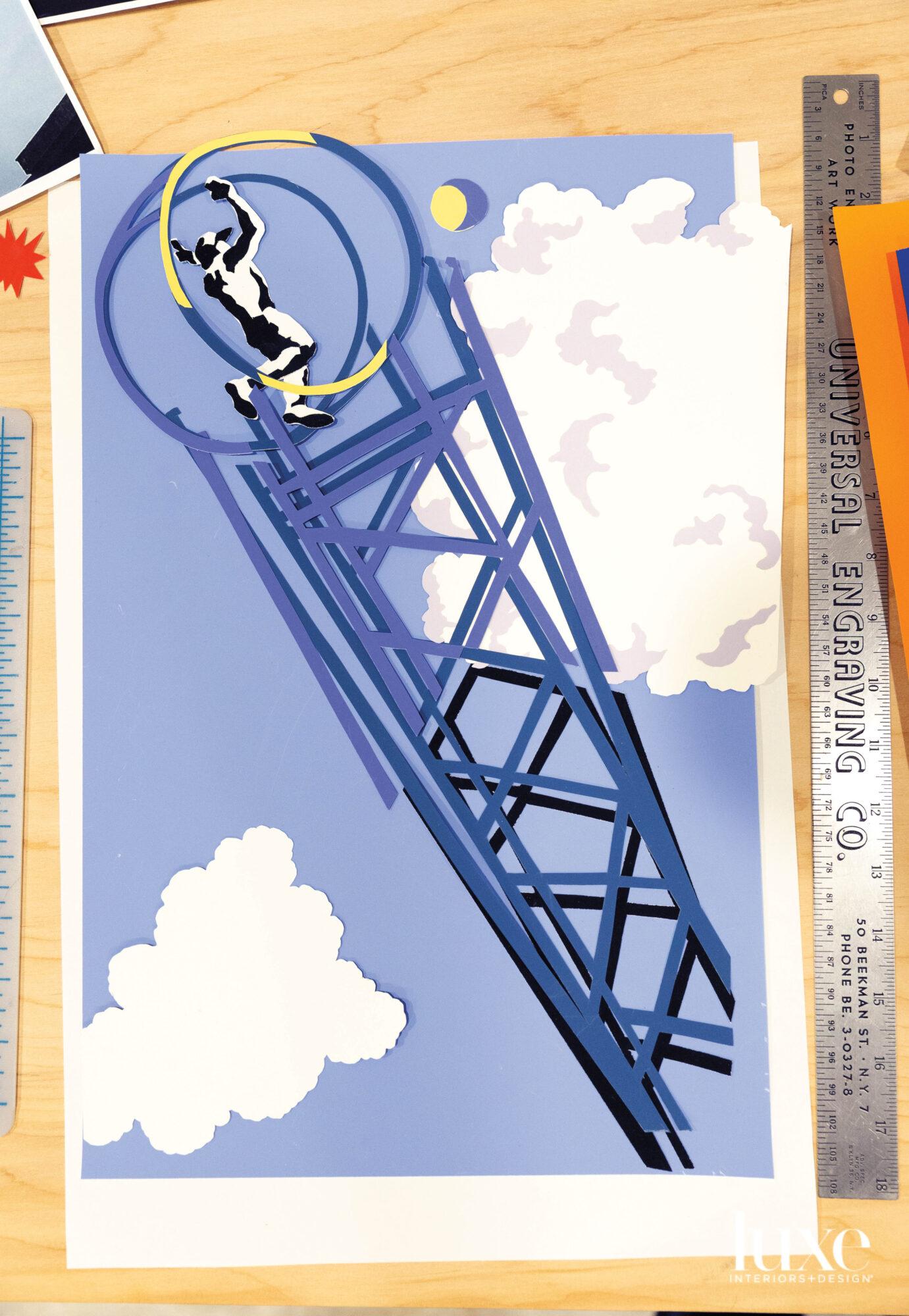 Circus-inspired artwork