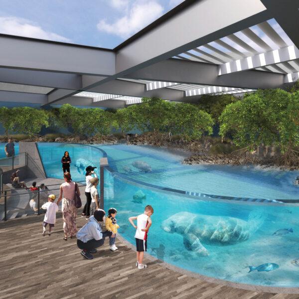 The Details Behind The Fresh Design Of Sarasota's New Aquarium
