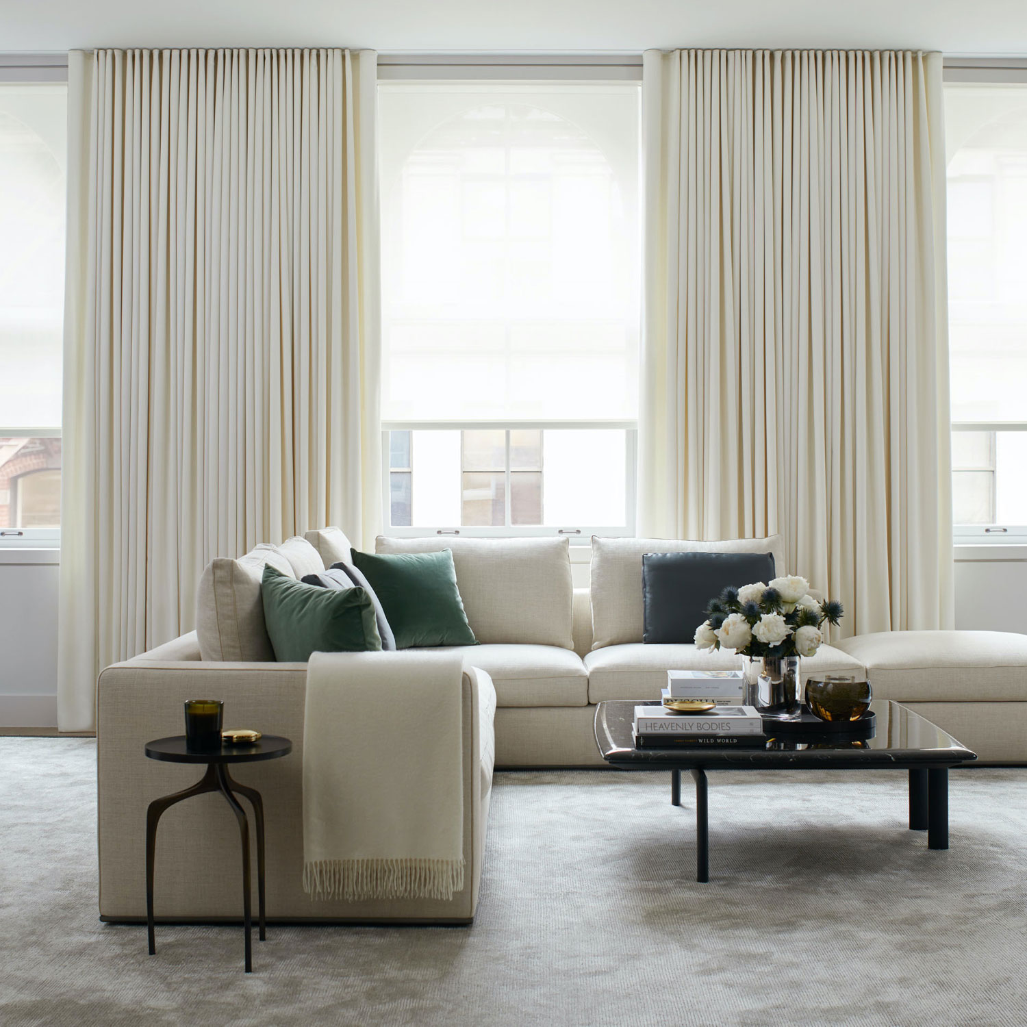 shade store white curtains