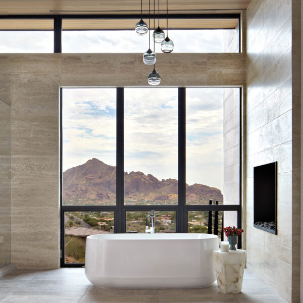 A Sleek Arizona Home With Mountain Views Sure To Win You Over