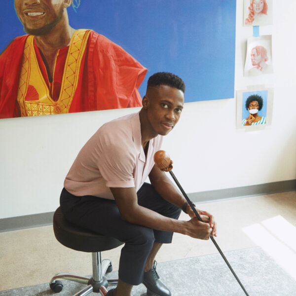 How An Arizona Artist Tells His Story Through The Faces Of African Immigrants