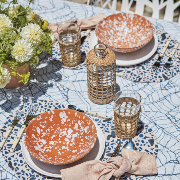 The Colorful New Tabletop Line With Jelly Bean-Shaped Place Mats