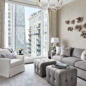 A Perfect Mix Of Neutrals Yields Ultra Luxe Interiors In Chicago