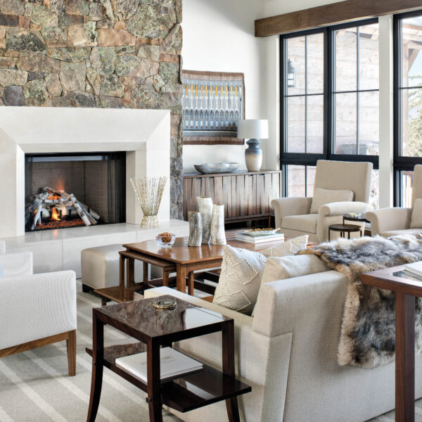 The Posh Ski-In, Ski-Out Mountain Home With A Nod To Adventure