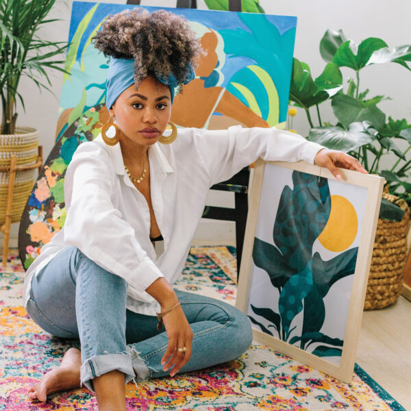 For Miami's Reyna Noriega, Art Should Spark Joy And Uplift Women