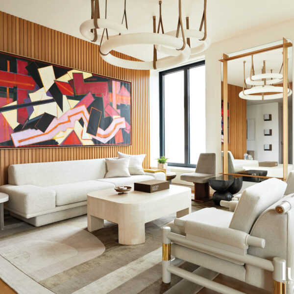 Space-Age Style Meets Modern Luxury In This Manhattan Abode