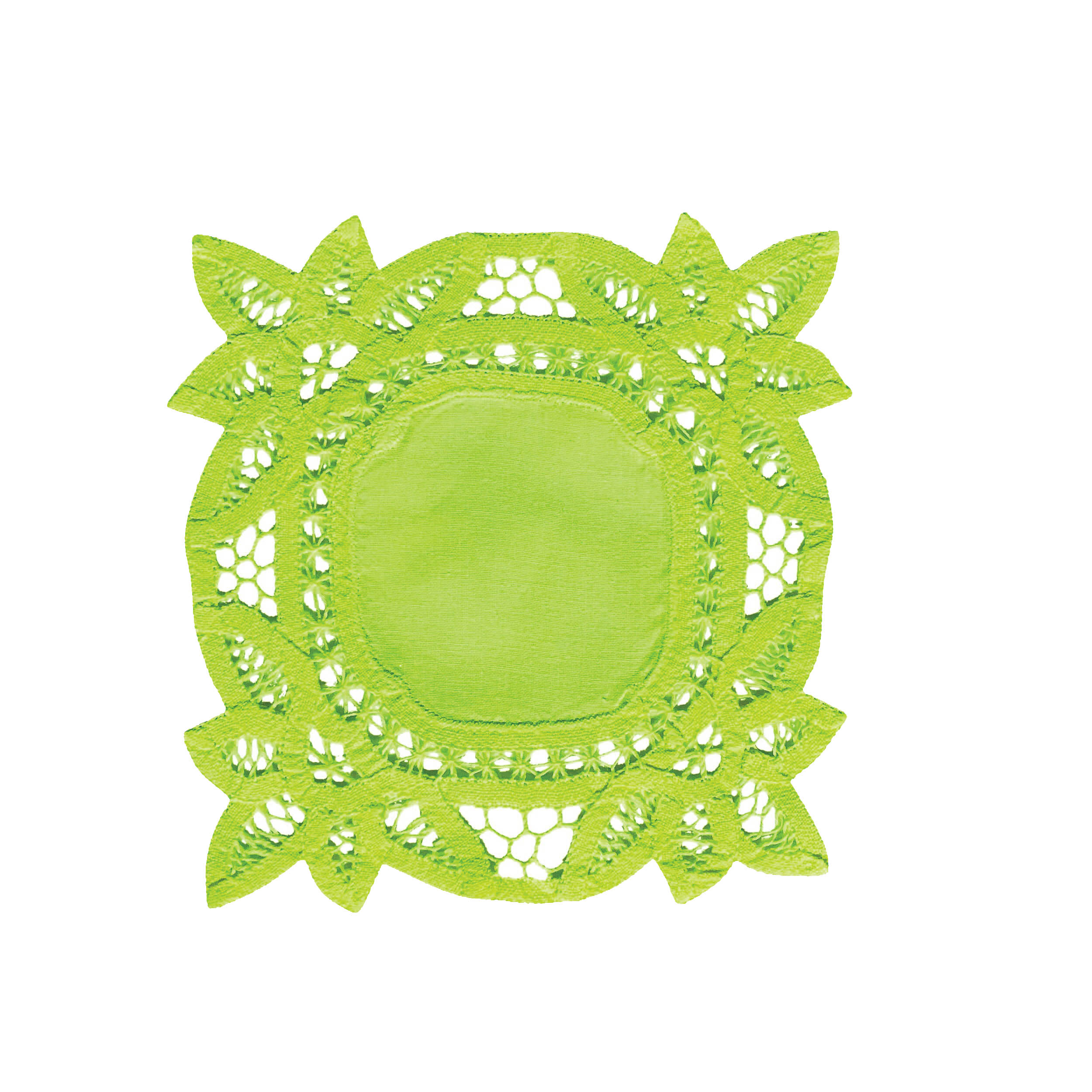 lime doily