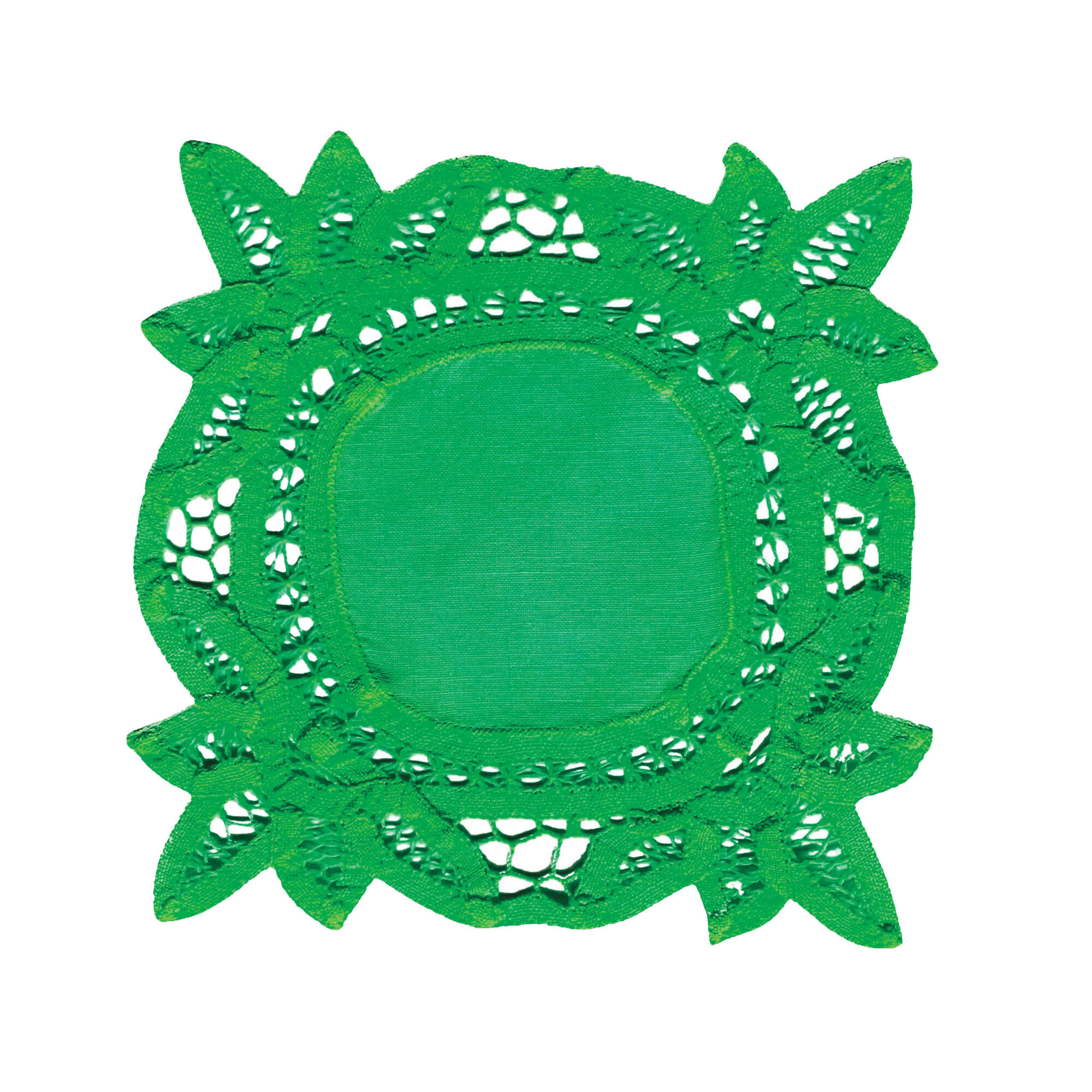 green doily