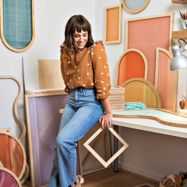 The Florida Artist Making Decorative Screens In Cheery Tropical Colors
