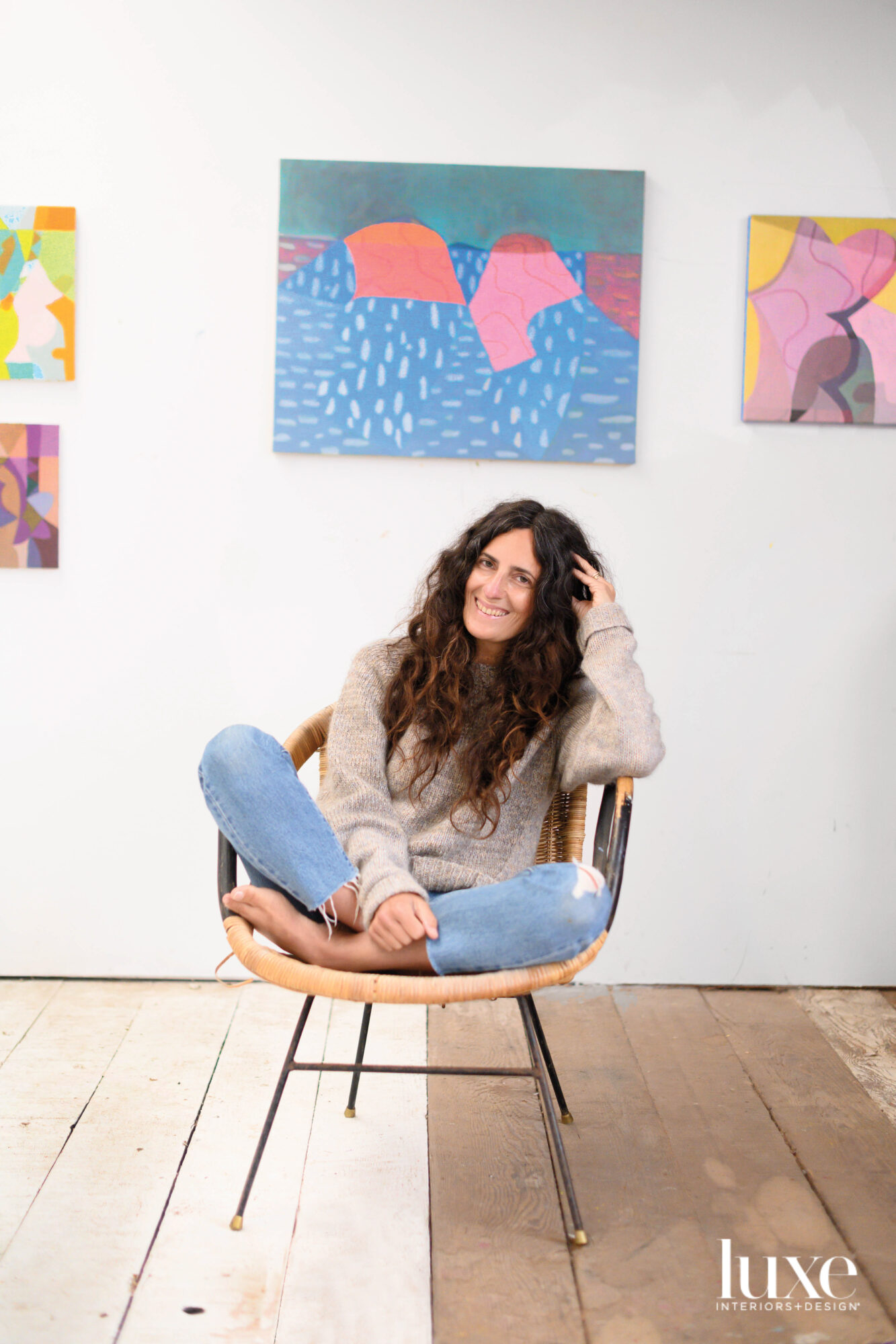 rachel kaye portrait in studio