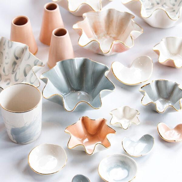 Behind Susan Gordon's Creative Spark And Signature Wavy Bowls