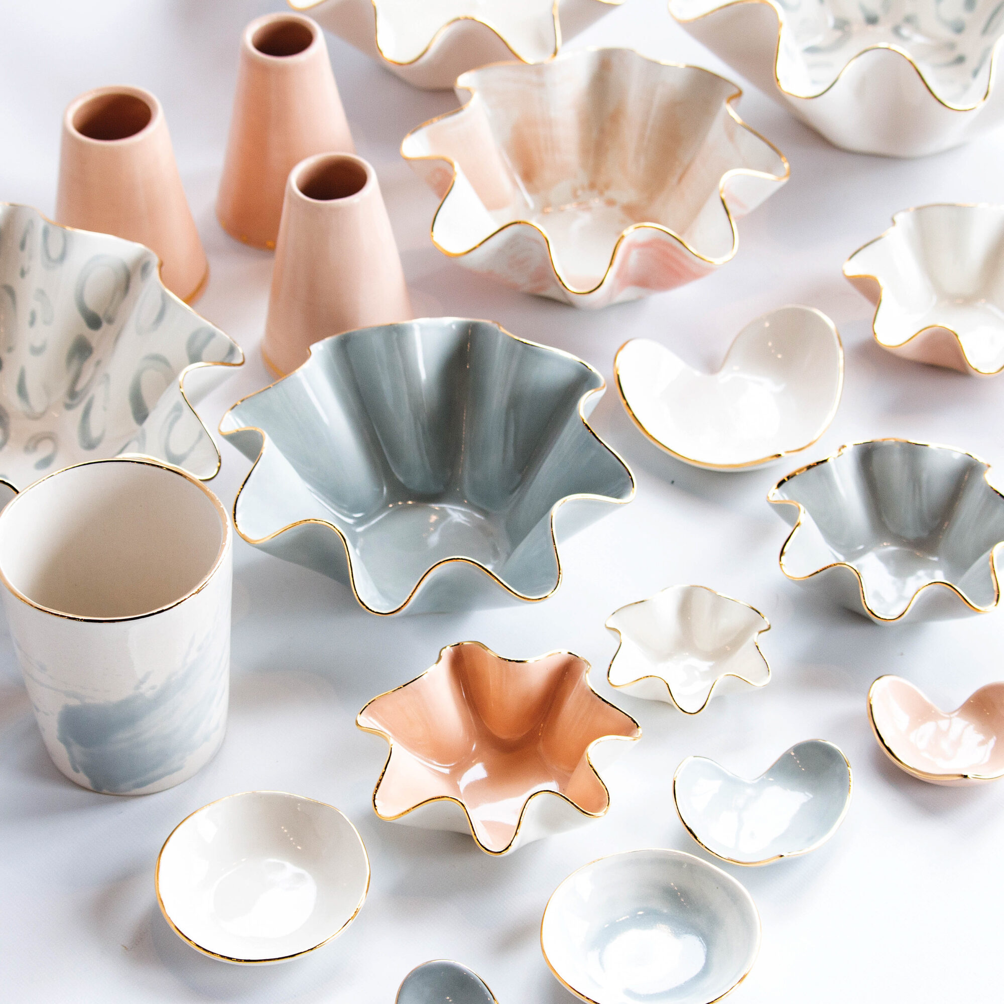 Behind Susan Gordon's Creative Spark And Signature Wavy Bowls
