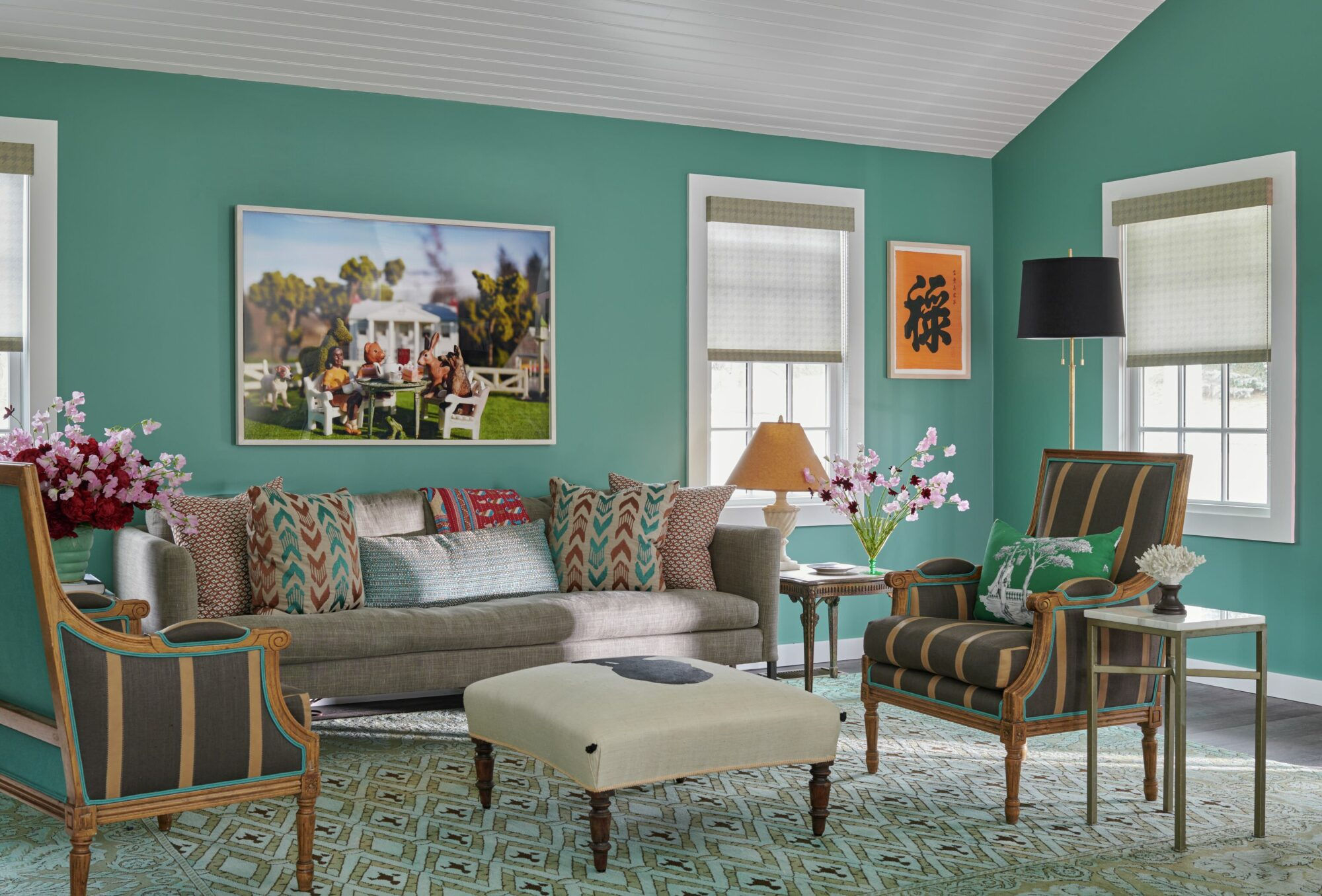 Now You Can Deck Your Windows In Harlem Toile De Jouy {Now You Can Deck Your Windows In Harlem Toile De Jouy} – English